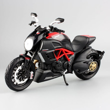 1:12 scale Maisto children Diavel cruiser corss Diecast model motor bike motorcycle race car miniature metal collection toys boy