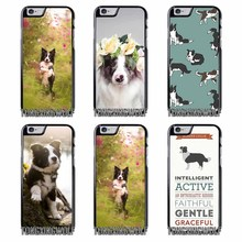 Border Collie Dog Cover Case for Samsung A3 A5 A7 2015 2016 2017 Sony Z1 Z2 Z3 Z5 Compact X XA XZ Performance