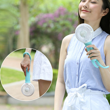 Mini Portable USB fan Air Conditioner Cooler Home Small LED Fan Battery Rechargeable Li Battery Air Conditioning Fans 12V