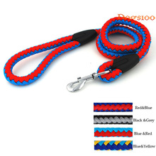 4 Ft Braided Rope Training Walking Dog Pet Leash Leads Heavy Duty 8 Choices