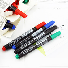 1 pcs Erasable Small Marker Pen Whiteboard School Dry Erase Markers Blue Black Red Office Supplies/8803 CCTV product