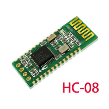 5pcs HC-08 HC08 Serial Port Module Wireless Bluetooth 4.0 RF Transceiver Support 9600bps Low Power Microcontroller 3.3V
