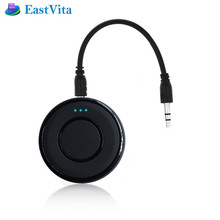 EastVita Bluetooth Receiver 3.5mm Stereo Home Music Audio Receiver Wireless mini Adapter with Mic for Car System O2 Speaker(China)