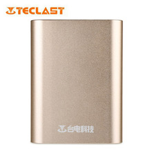 Original Teclast T104QC Two-way Quick Charge 2.0 10400mAh Power Bank Aluminum Alloy Skin Mobile PowerBank External Battery Pack