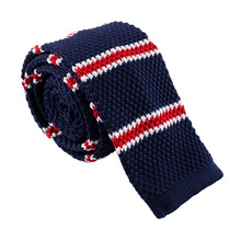 Fashion Men's Colourful Tie Knit Knitted Tie Necktie Narrow Slim Skinny Woven Male Brand Slim Designer Knitted Neck Ties Cravate