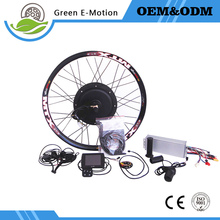 Fowerful 72V 3000W rear motor conversion kit High Power Ebike motor 120km/h speed electric bike motor kit with TFT RFID display