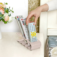 Practical Wrinkled 4 Section Home Appliance Remote Control Holder White