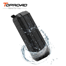 TOPROAD Waterproof IP65 Wireless Bluetooth Speaker Portable Outdoor Travel Speakers caixa de som portatil Loudspeaker with Mic(China)