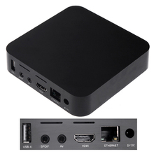 Docooler TV BOX Android 4.0 ARM Cortex A9 HD 1080P Wifi Internet TV Set-Top Box Media Player(China)