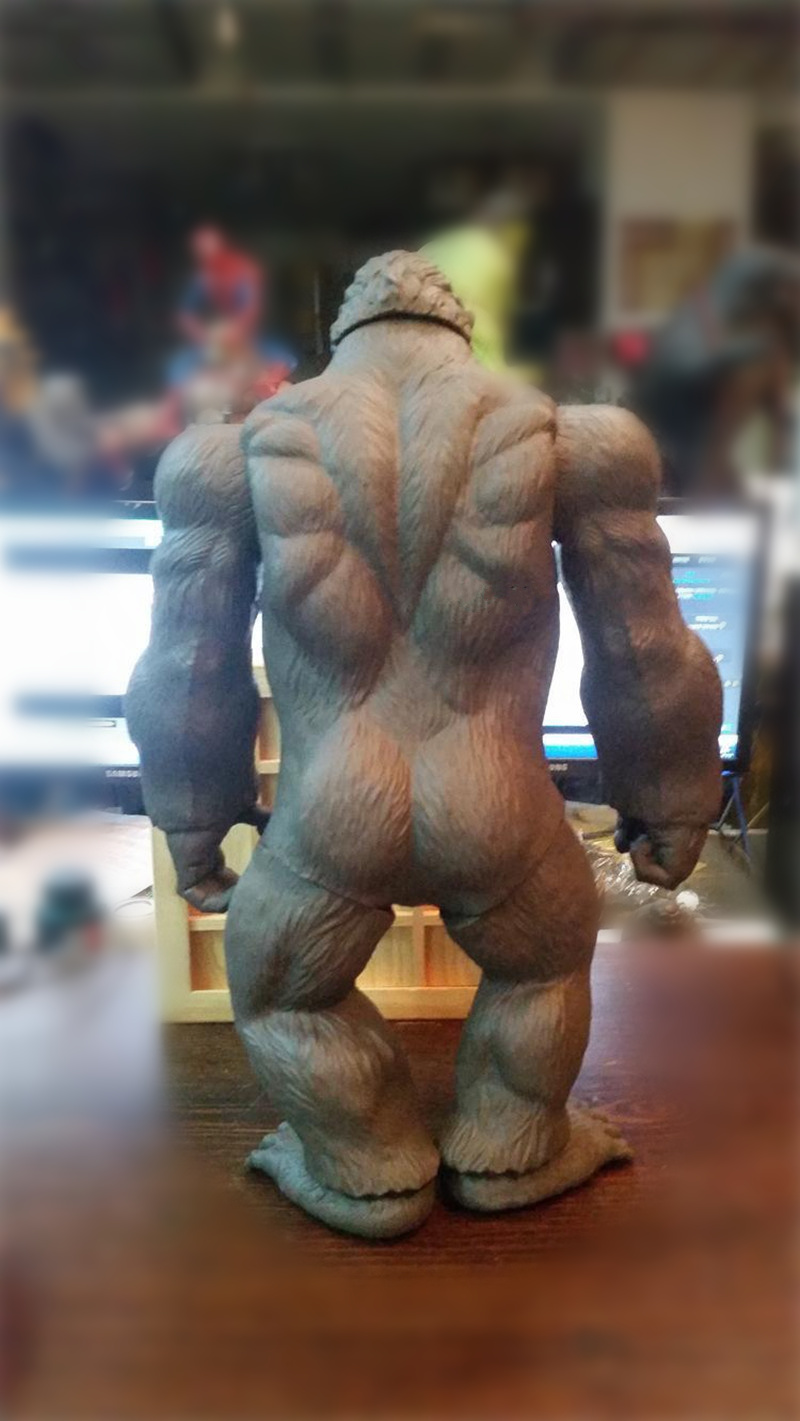 45CM-Movie-Kong-Skull-Island-Action-Figure-Toy-Collectible-Model-Brinquedo (2)