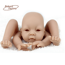 2017 New Reborn Doll Kits Soft Vinyl For 20 inch Realistic Baby Reborn Kits Fashion Doll Accessories With DIY Doll Parts