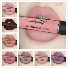 12 Colors Sexy Lip Paint Matte Liquid Lipstick Waterproof Long Lasting Lip Gloss Makeup Cosmetic