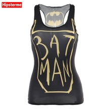Buy Hipsterme Summer Sexy tank top workout bat man game 3D print sleeveless tops Girl singlet Women camisolas for $7.12 in AliExpress store