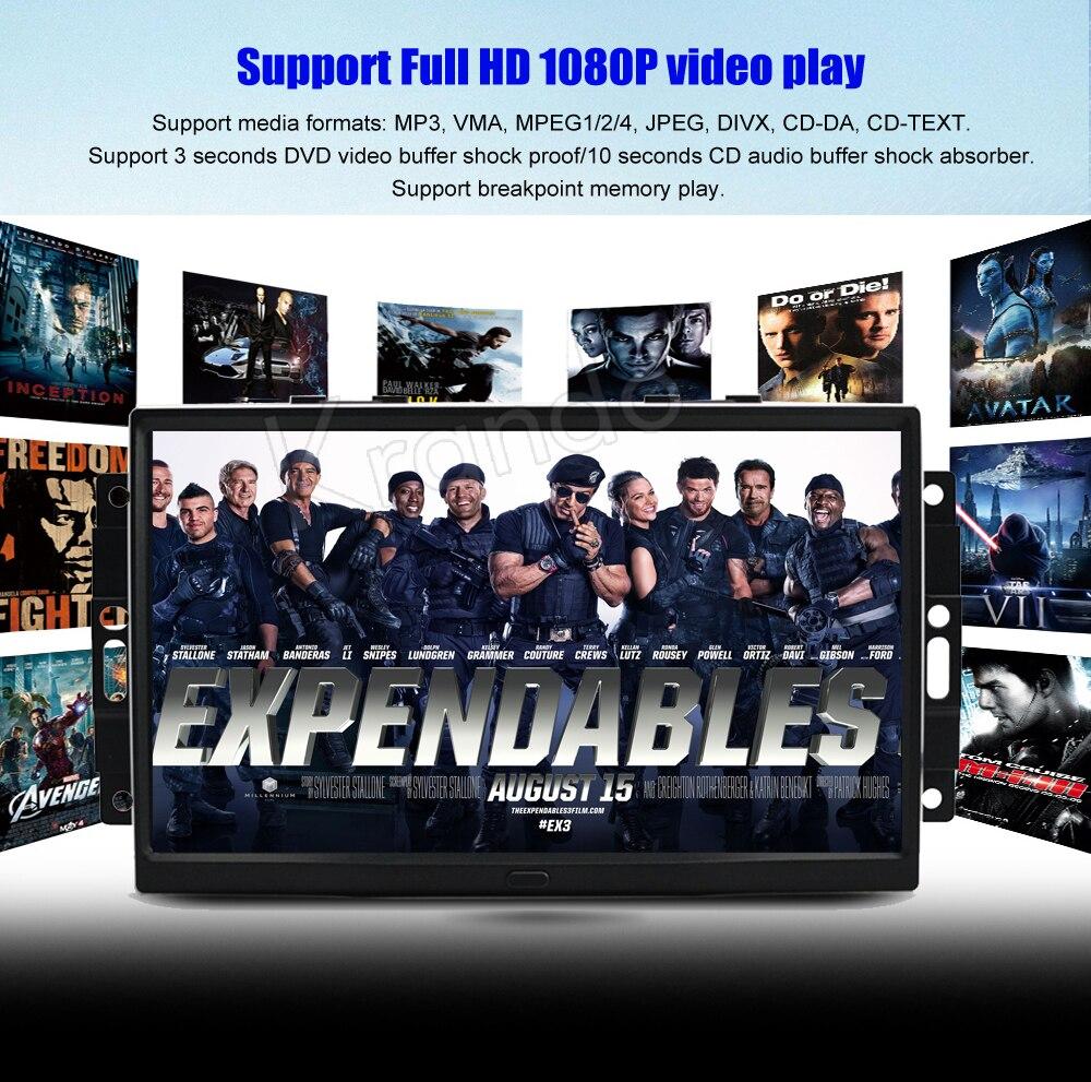 Krando chrysler 300C jeep cherokee Android car radio gps dvd player navigation multimedia system (8)