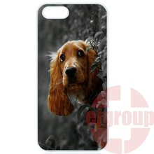 For Apple iPhone 4 4S 5 5C SE 6 6S 7 7S Plus 4.7 5.5 iPod Touch 4 5 6 Hard Pc Skin Accessories Cocker Spaniels Dog Puppies