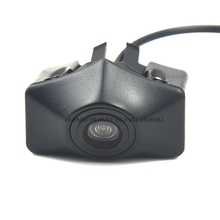 CCD Car Front View vehicle Logo Camera for Audi A6L Q5 Q7 Q3 A4L A4 b8 front logo camera Brand Mark Camera PAL/NTSC(China)