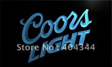 LE012- Coors Lite Beer NR Bar Pub Club   LED Neon Light Sign   home decor  crafts