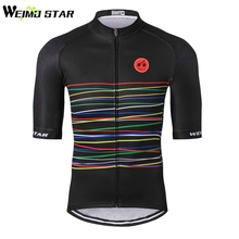 WEIMOSTAR 2017 Mens Ropa Ciclismo Outdoor Team Cycling Jersey Bike Half Sleeve Shirts Bicycle Clothing Riding Tops