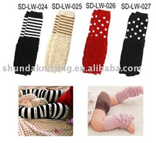 wholesale 24pairs/lot Baby legs wears baby Leg warmers children's long stockings Baby socks/Infant gifts(China)