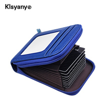 Buy Klsyanyo Genuine Leather RFID Blocking Card Holder Bifold Short Clutch Coin Purse Ladies Small Credit Card Pack Lovely Wallet for $7.07 in AliExpress store