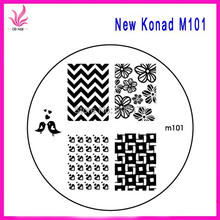 Popular nail art discs buy cheap nail art discs lots from china 10pcs per lots new nail art konad stamping m series mix designs wholesales new konad nail discs prinsesfo Images