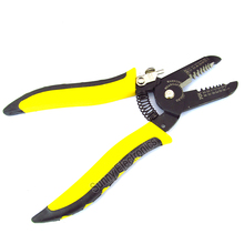 MINI Portable wire stripper Knife crimper Pliers crimping tool,Cable Stripping,Wire Cutter multi tools Cut Line,pocket multitool(China)