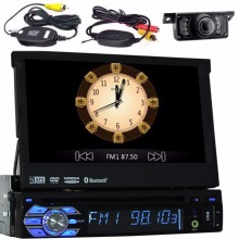 single 1 din Car DVD Player GPS Navigation Auto Radio In dash Car PC Stereo Video Steering Wheel Free Map Car Multimedia Player