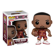 Funko POP Basketball superstar Kyrie Irving Action Figure Collectible Model Toys Great quality Christmas Gift