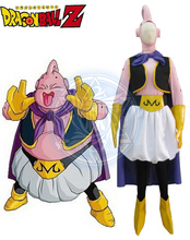 Dragon Ball Z Majin Boo Cosplay Costume The Big Boo Anime Custom Made Uniform