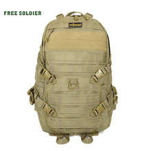 FREE SOLDIER outdoor sports camping climbing&hiking Nylon bags TAD second tactical backpack men's bag YKK zipper