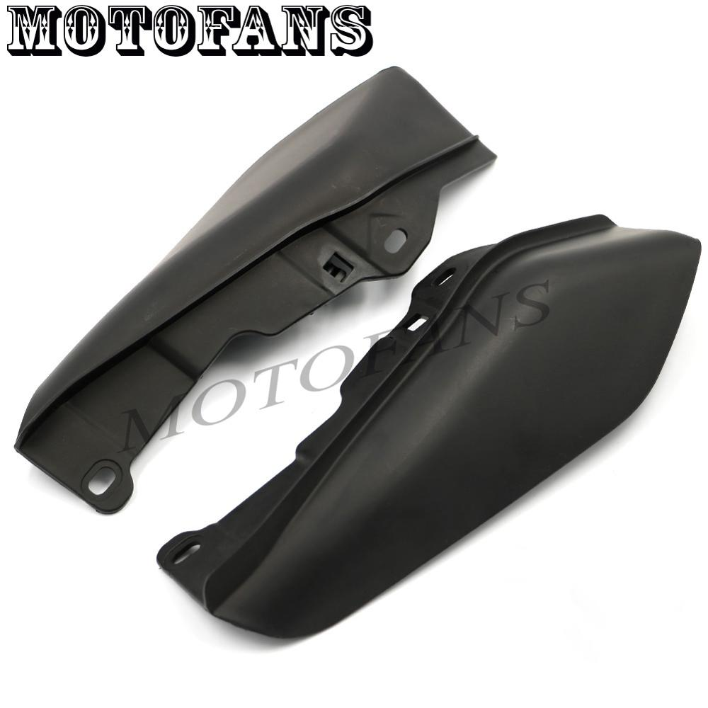Newest Top Selling Special Offer Black ABS Useful Mid-Frame Air Deflectors for Harley Touring Street Road Tri Electra Glide FLHT<br><br>Aliexpress
