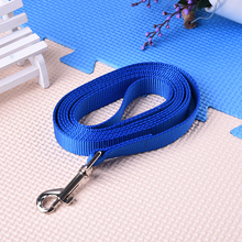 High Quality Pet Medium and Large Dog Lengthen Nylon Training Traction Rope Belt Dog Lead Leash Pet Supplies(China)