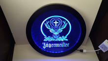 b-10 Jagermeister Deer head RGB led Multi Color the wireless control beer bar pub club neon light sign Special gift