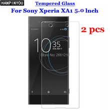For Sony XA1 Tempered Glass 9H 2.5D Premium Screen Protector Film For Sony Xperia XA1 / Dual G3112 G3116 G3121 G3123 G3125 5.0""