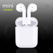 PADEAR mini X Bluetooth Earbuds Earphone Wireless Headsets Ear Double Not Air pods For Iphone Andorid Apple 7/8 plus(China)