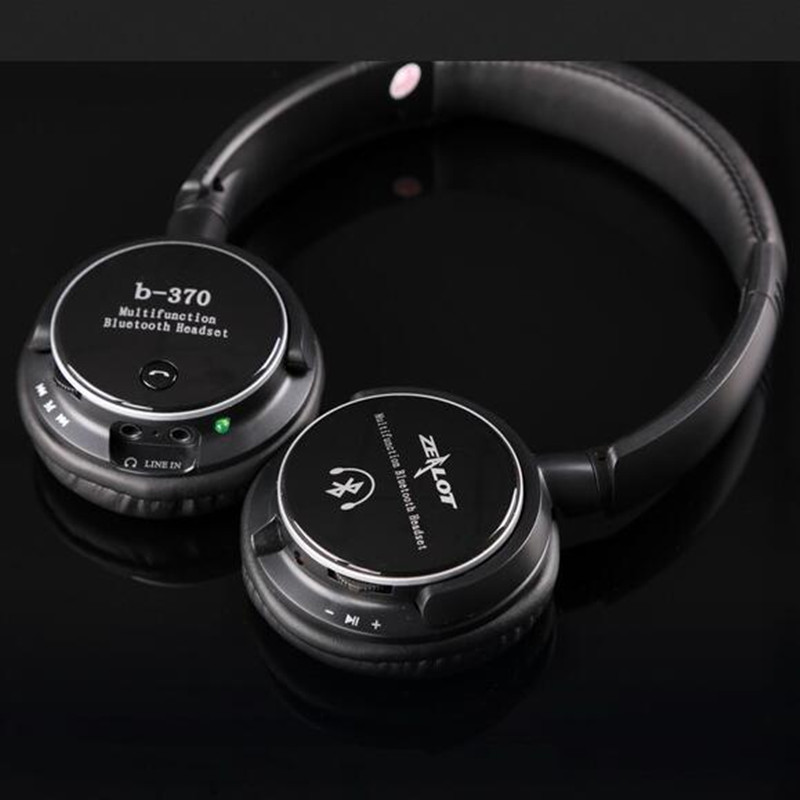 Wireless Bluetooth Headphone Stereo Over-ear MP3 Wired with mic Support FM TF for iPhone 4 5 6 xiaomi Android Smartphone<br><br>Aliexpress