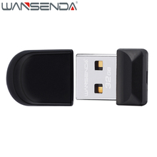 WANSENDA Super Mini usb flash drive 4gb 8gb 32gb pen drive usb 2.0 Memory stick 16gb cle usb stick Pendrive Free Shipping(China)