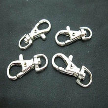 20Pcs Lobster Clasp Metal Connector Jewelry Swivel Clasps DIY Jewelry Making Keychain Parts Bag Dangles 36x12mm