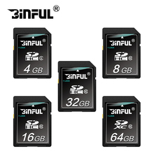 100% Real Capacity SD Card 32GB Memory Card 16GB 8GB 4GB SDXC Transflash Flash Memory Card for camera gift