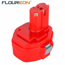 FLOUREON 14.4V 2000mAh For Makita Rechargeable Power Tools Battery for MAKITA PA14 1420 1422 1433 1434 1435F JR140D 192699-A