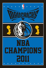 Dallas Mavericks Basketball Team 90*150cm Champion Flag Banners Home Deco 100D Polyester Flag with Metal Gromets Sleeve(China)