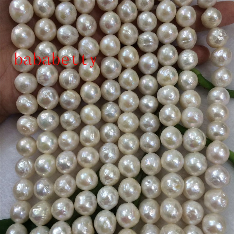 wholesale 10 Strand 4mm genuine freshwater pearl strands small beads 15 inch