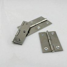 HQ H6 Folding Type 10Pairs/Lot Household Hardwares 45MM Length AISI304 Stainless Steel Cabinet Hinge