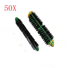 Wholesale 50pcs Bristle & Flexible Beater Brush for iRobot Roomba 500 Series Vacuum Cleaner 520 530 540 550 560(China)