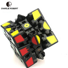 Brand New Magic Puzzle Cube 3x3x3 Gear Magic Cube 3D Educational Toy Special Toys HT3897