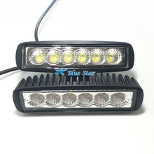2pcs High power LED Light Bar for offroad truck tractor LED Work Light SUV ATV 4X4 LED Driving Light spot beam / flood beam