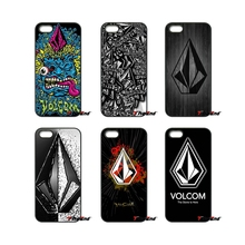 Cool Volcom Face Patterned For iPod Touch iPhone 4 4S 5 5S 5C SE 6 6S 7 Plus Samung Galaxy A3 A5 J3 J5 J7 2016 2017 Case Cover