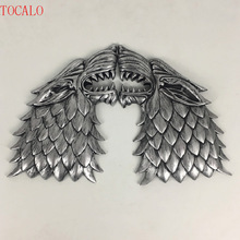 21cm Direwolf Head Wall Decoration Game Of Thrones Wolf Action Figure Toys Song of Ice and Fire Figures Model with Opp Bag
