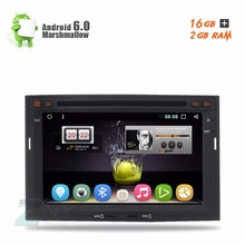 "7"" Android 6.0 Car DVD For Citroen Berlingo Peugeot Partner Auto Radio RDS Stereo Audio Video GPS Glonass Navigation DAB+ WiFi"