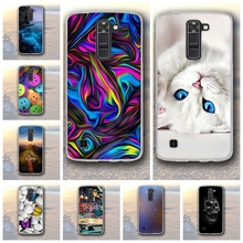 Soft silicon Case for LG K7/Tribute 5 LS675/X210 X210DS Relief 3DPainting Back Cover For LG K7 Cases Mobile Protector Funda Capa(China)